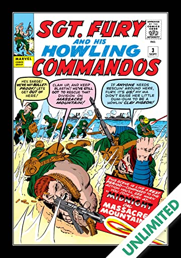 Sgt. Fury and His Howling Commandos (1963-1974) #3
